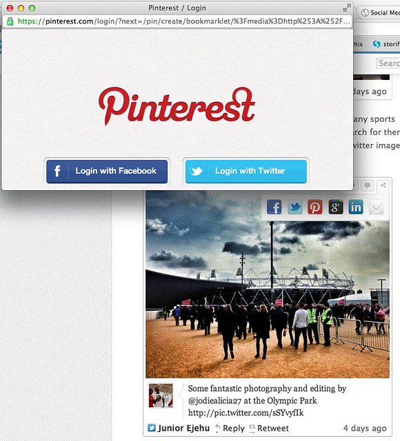 Thumbnail for Pinterest fans, here's how to pin any photo - or any tweet! - you see on Storify