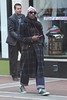Andr� Benjamin better known as Outkast's Andr� 3000 seen out and about on Grafton Street Dublin, Ireland 15.05.12