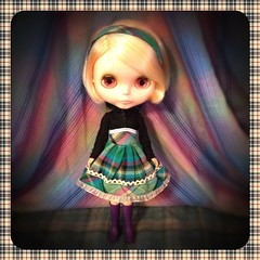 Blythe-a-Day May: Day 27 Plaid