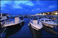 Izola Marina #2 (nabilishes [on and off]) Tags: marina boats harbour slovenia slovenija slowenien izola slavic istrian nabilishes nabilza republicslovenija