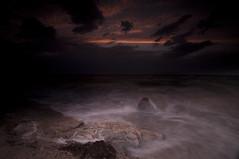 EYE of the STORM_DSC2922 (antelope reflection) Tags: sunset lake storm beach colors waves antelopeisland tamron utahstatepark nikond90
