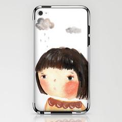 rain on me- ipod 4 skin (unieca) Tags: rain illustration ipod iphone