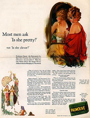 Vintage Palmolive Advert (retrotrace) Tags: advertising humor humour vintageadvertising vintageads