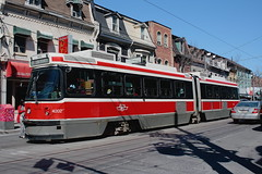 "Streetcar on Queen West • <a style=""font-size:0.8em;"" href=""http://www.flickr.com/photos/59137086@N08/7360385348/"" target=""_blank"">View on Flickr</a>"
