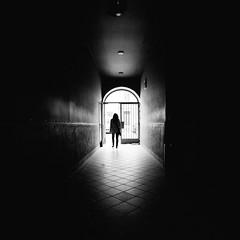 A Woman (Martin Gommel) Tags: street woman streetphotography frau kontrast tr schwarzweis strase img5590 gegenlich