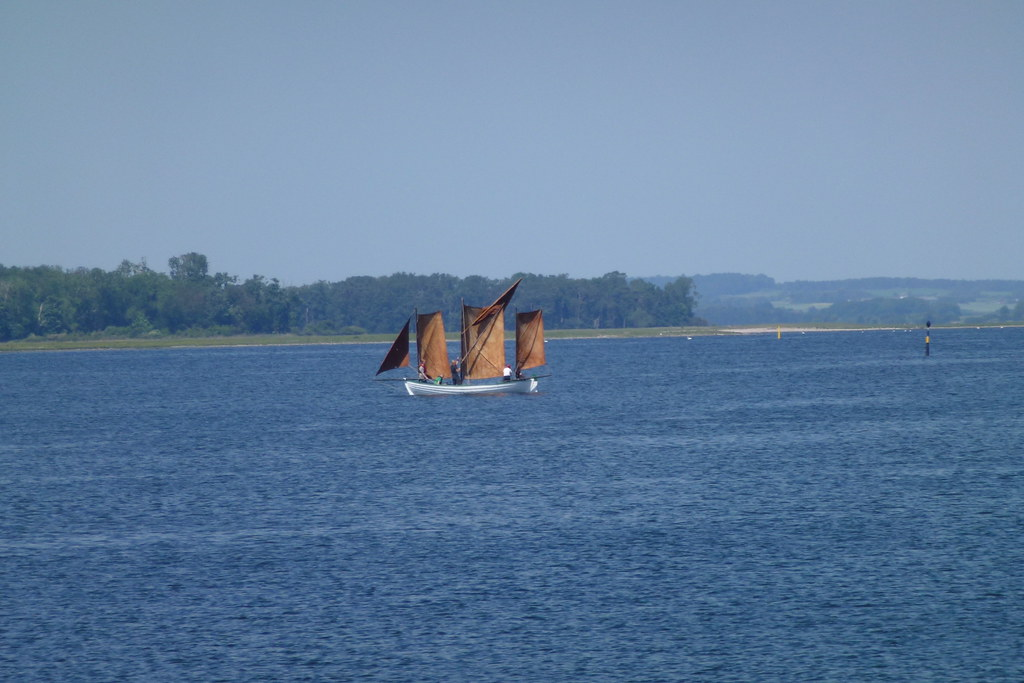Sailboat at Roskilde Fjord