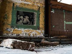 (.:Chelsea Dagger:.) Tags: lighting city ohio urban building texture abandoned graffiti downtown factory cleveland tags clevelandohio forgotten dilapidated urbanexploring urbex chelseadagger chelseakaliwhatever cmckeephotography strugglebuggy chelseamckee
