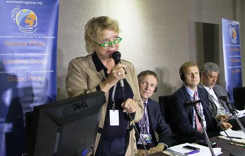 Eva Joly og Heikki Holmås