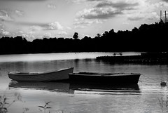 sailing-boats-at-anchor (Baalel) Tags: blackandwhite lake water boats anchor resevoir rickmansworth aquadrome