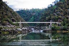 DSC_3175 (zeusch) Tags: bridge tasmania gorge launceston cataractgorge firstbasin launcestonbasin launcestoncataractgorge