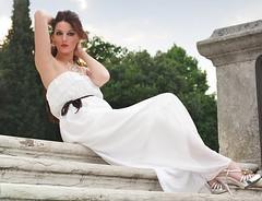 Roberta sul Monte Berico (Luigi Prearo) Tags: portrait italy woman girl beautiful fashion donna glamour italia monte ritratto roberta 2012 vicenza ragazza georgeous berico