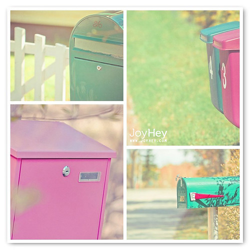 Colorful Mailing / JoyHey