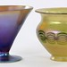 1016. (2) Favrile Art Glass Objects