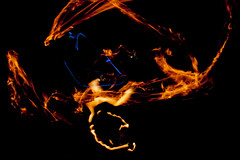 5 (rhorridle) Tags: lightpainting night fire fuego nocturno firepainting