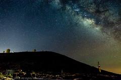 Milky Way over Izaa Observatory. Tenerife, Canary Islands. (Timelapsephotography) Tags: clouds timelapse tenerife teneriffa nachtaufnahme sterne milkyway parquenacionaldelteide izana milchstrase