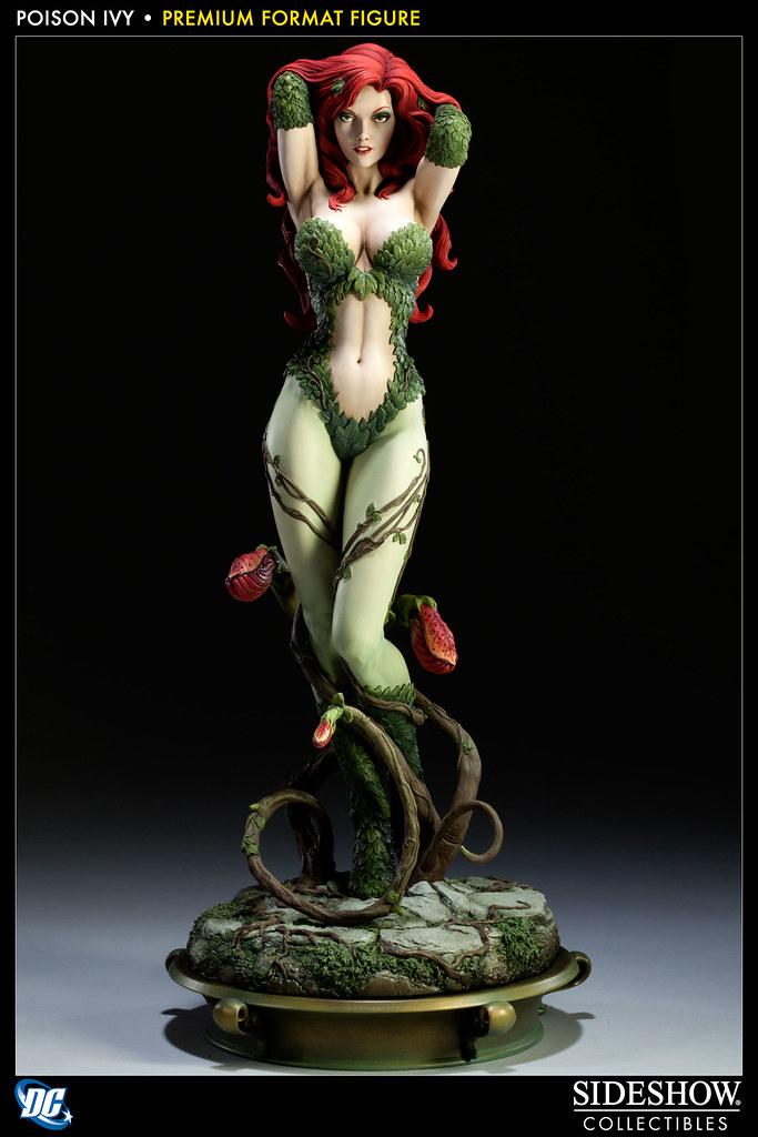 Sideshow - Poison Ivy 毒藤女1:4 雕像