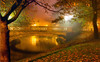 Autumn Mist (Reza-Sina) Tags: autumn mist night fv10 flickrstruereflectionexcellence rememberthatmomentlevel1