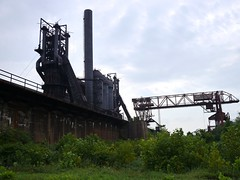 Carrie Furnaces, Braddock - 07 (the justified sinner) Tags: urban usa abandoned industry us rust iron pittsburgh pennsylvania steel panasonic explore pa disused carrie furnace exploration ore blast corrosion f25 braddock bessemer furnaces 14mm gh2 justifiedsinner disusedpanasonic