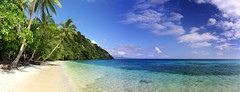 Picnic Beach (Andrew Fleming Photography) Tags: ocean beach water fiji landscape bay sand andrew shore waterscape fleming andrewfleming naigani naiganiisland pinicbeach canabulibay canabuli