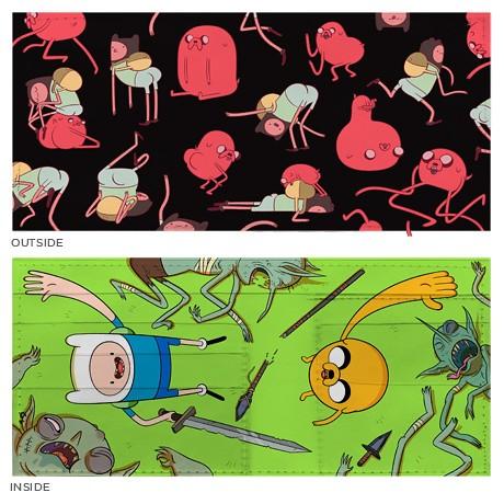 poketo Adventure Time Wallet 探險活寶 圖案錢包