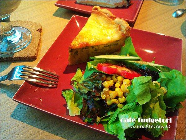 【台北麗水街】cafe fudgetori / 社區裡的溫馨咖啡店