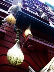 (Clara Ungaretti) Tags: street nyc newyorkcity red usa ny newyork building up lines architecture modern america hotel us unitedstates manhattan contemporary balcony unitedstatesofamerica curves northamerica estadosunidos novayork estadosunidosdaamérica
