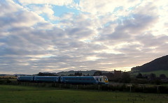A unit will have to do (Jim the Joker) Tags: train sunrise dawn railway stokesay stokesaycastle class175 1751 themarchesline