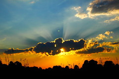 Cool sunset (Eagles9359) Tags: sunset clouds sunrise delaware sunrises storms rainclouds cloudsstormssunsetssunrises