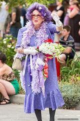 Edna 2 - Jacaranda Parade 2015 (sbyrnedotcom) Tags: 2015 people events grafton jacaranda parade rural town dameednaeverage nsw australia