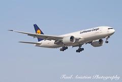 Lufthansa Cargo Boeing 777-200LR/FBT D-ALFC (MSN007) Tags: lufthansa cargo boeing 777200lrfbt dalfc air airways airlines airport yyz cyyz 777 200 lrf jet aircraft airplane airliner jetliner