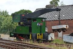 Dbs Crane Tank No. 4101 (IndustrialMadness) Tags: tank crane no smoke railway steam soot gala colliery foxfield 4101 dbs