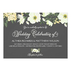 (Summer Flowers Wedding Invitation | Yellow & Gray) #Anemone, #Botanical, #Calligraphy, #Classic, #Elegant, #Floral, #Flowers, #Gray, #ModernCalligraphy, #Pattern, #PolkaDots, #Romantic, #Script, #Spring, #SpringWedding, #Typography, #Vintage, #Wedding, # (CustomWeddingInvitations) Tags: summer flowers wedding invitation | yellow gray anemone botanical calligraphy classic elegant floral moderncalligraphy pattern polkadots romantic script spring springwedding typography vintage white yellowandgray yellowflowers is available custom unique invitations store httpwwwzazzlecomsummerflowersweddinginvitationyellowgray256951702920527889rf238062003443194985 weddinginvitation weddinginvitations
