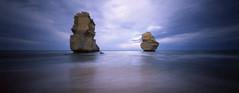 Pinhole Pair (LunaliteSBC) Tags: pinhole pinholecamera nolens zeroimage612b film filmcamera fuji fujivelvia50 velvia twelveapostles victoria australia longexposure ishootfilm filmphotographyproject