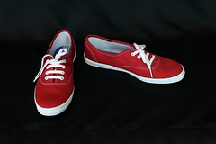 Size 8 Red Keds (Fanta_Productions) Tags: redshoes keds sneakers scarletsshoes giftedshoes