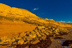 Port Willunga (Sougata2013) Tags: light sunset landscape rocks colours australia adelaide southaustralia rockart portwillunga nikond7200