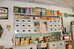 Antique grocery supplies (quinet) Tags: 2014 antik eckernfoerde germany lebensmittelgeschft schleswigholstein ancien antique groceries grocery picerie