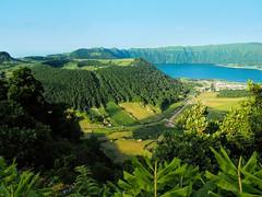 Sete Cidades Hike (christine zenino) Tags: setecidades caldera azores portugal