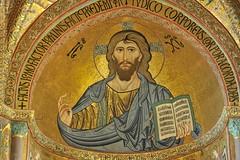 _AMF7355 (Alexandre_Monteiro) Tags: mosaik kirchenschiff chor dom romanisch kirche cefalu