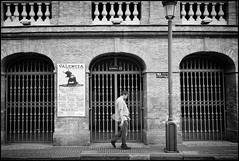 Sombre (Photoburglar) Tags: bullring valencia spain espana nikon d610 street urban candid bullfight sombre black white