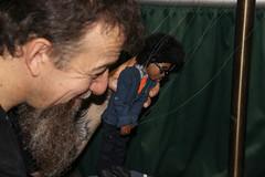 BN-3484 (teqmin) Tags: dorisdieter rickysyers humansofny humansofnewyork barnesnoble marionette marionettes booksigning brandon newyork nyc manhattan