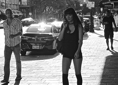 These boots are made for walkin (wheeler_camille) Tags: street photography photographer blackandwhite black white photograpy sixthstreetaustin downtownaustin austin texas txstreetphotography scene