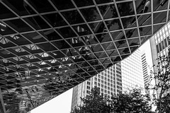 Seattle Central LIbrary DSC03973-Edit (nianci pan) Tags: abstract seattle centrallibrary curve line pattern geometry geometric city cityscape landscape urban nianci pan sony sonyalpha dslr sonyphotographing architecture building reflection