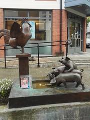 Bookcrossing release (zimort) Tags: bok book bookcrossing pokestop wildrelease gjvik norge norway norwegen art kunst skulptur