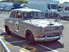 56 Austin A90 Westminster (1958) (robertknight16) Tags: austin british 1950s bmc a95 westminster racecar racing donington xkl7
