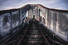 Always look ahead... (valsdarkroom.com) Tags: abandoned bridge forgotten urbex urbanexploration d700 decay dark lost train tracks nikon