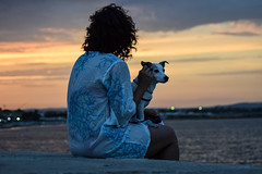 17082016-DSC_0325 (danielasorce) Tags: dog friend tramonto sunset mare marzamemi sicilia