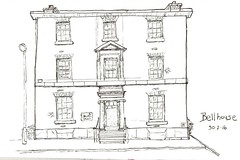 Bellhouse (David Masters) Tags: urbansketching sketch urban pen ink watercolour drawing 2016 manchester usk city symposium england uk