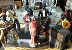 20160913 Blackpool Model Musicians (blackpoolbeach) Tags: blackpool antiques dickson road miniature musicians piano trumpet singer doublebass saxophone guitar