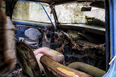 Running on Empty (Dennis van Dijk) Tags: mini cooper car classic broken derelict empty abandoned forgoten decay ue eu urbex urbanexploration