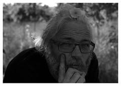 """Au Verger Joli.. Y.""/""In the Nice Orchard...Y."" (praetorian29620) Tags: fdrouet portrait bw nb film analogue analog analogico blackandwhite noiretblanc blancoynegro biancoenero afd nikon nikkor 50mm18 f801s scan epson v370 lc29 trix kodak retrato breton bretagne brittany monochrome monochrom"